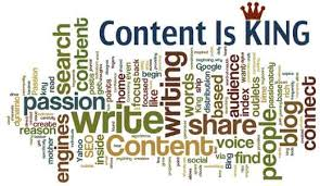 content is king; content & keyword targeting tips for SEO